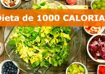 Dieta de 1000 Calorias: Emagreça de 4 à 7Kg em Quinze Dias!